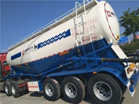 广西区域销售通亚下灰车、30方水泥罐车、粉粒物料罐车厂家直卖