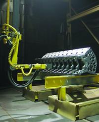 重慶機器人噴丸房機器人噴砂房廠家