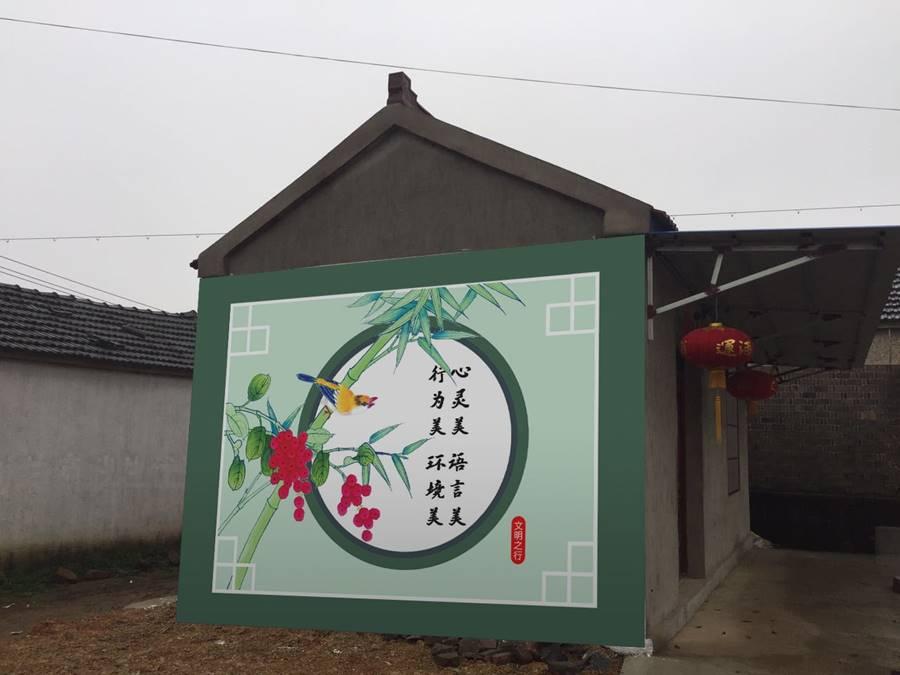 制作墙绘成都新农村墙画的行业须知