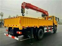 三环昊龙T260单桥配8吨三一随车吊