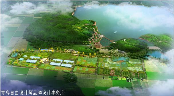 农业旅游规划设计、旅游规划设计、厂房设计、效果图设计、鸟瞰图