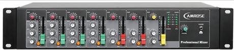 海悦思8路机架式调音台  无纸化会议系统