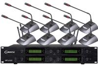 海悦思1拖8无线会议话筒 智能无纸化会议系统
