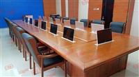 会议室电教室常规22寸液晶屏会议话筒升降器