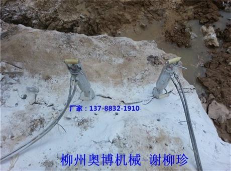 专注制造劈裂器十五年  柳州奥博以质量铸就未来