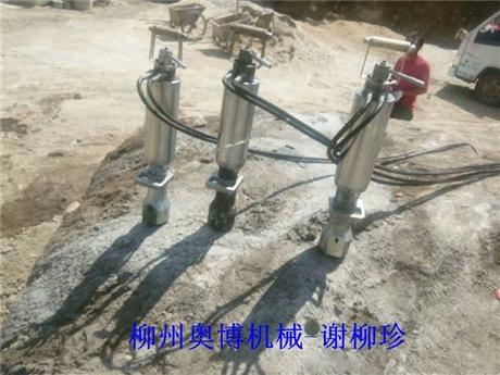 柳州奥博15年研发销售劈裂机