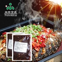 香辣味酱汁供应 安徽三珍食品烤鱼酱直销