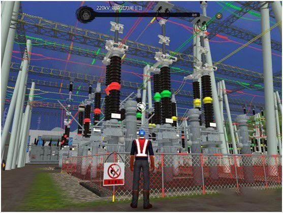 vr电力教育、vr电力培训、电厂vr电力VR场景软件知名源头制作商