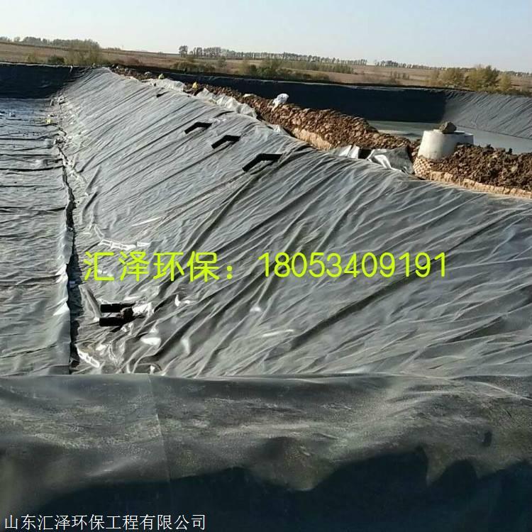 广西HDPE沼气池 黑膜沼气池 软体沼气池