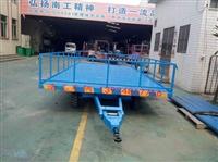 5噸護欄型無動力全掛車,藍色