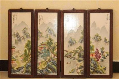 刘雨岑瓷板画都有什么特征