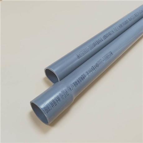 南亚耐酸碱给水PVC-U直管 直径20-630mm 工业排水UPVC管道