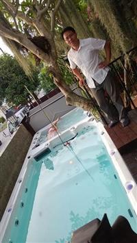 瑞莱思IPARNASSUS游泳池厂家专业生产别墅泡池