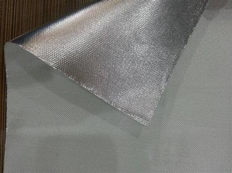 合肥铝箔布 铝箔防火布 耐高温铝箔复合玻纤布