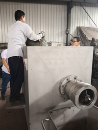 山東生產250凍肉絞肉機的廠家,250凍內絞肉機諸城哪家好