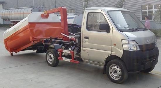 云南曲靖开瑞车厢可卸式垃圾车报价