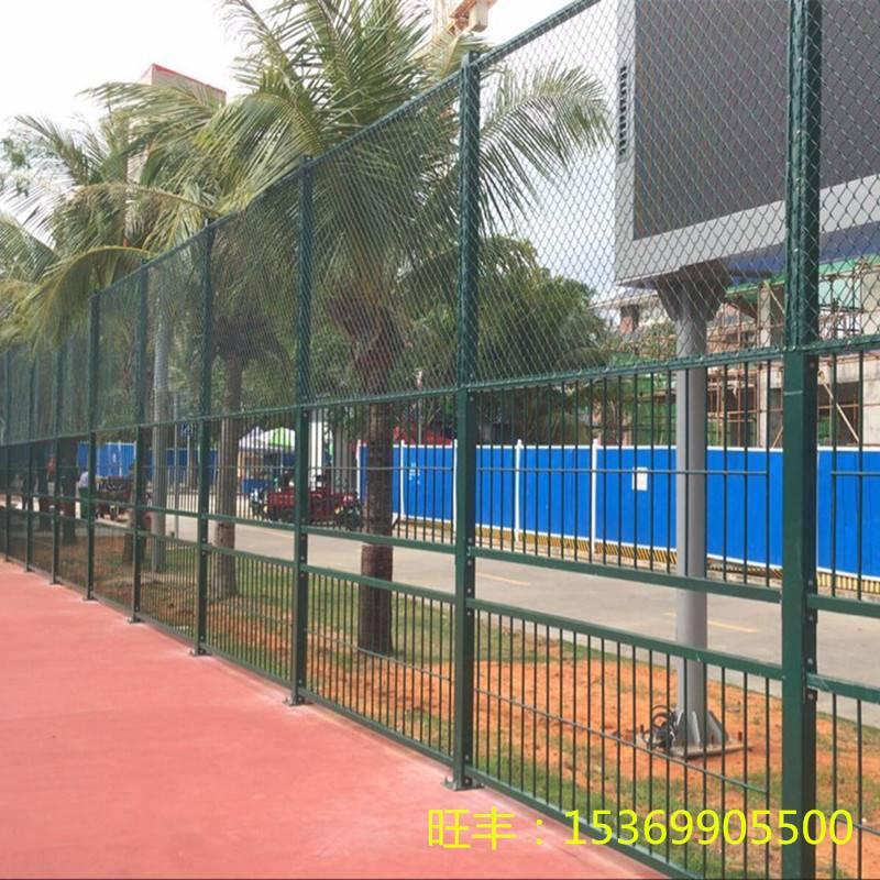 钢格栅笼式足球场围网