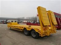 11.5米12米13米半挂超低拖盘板车价格及订做厂家报价