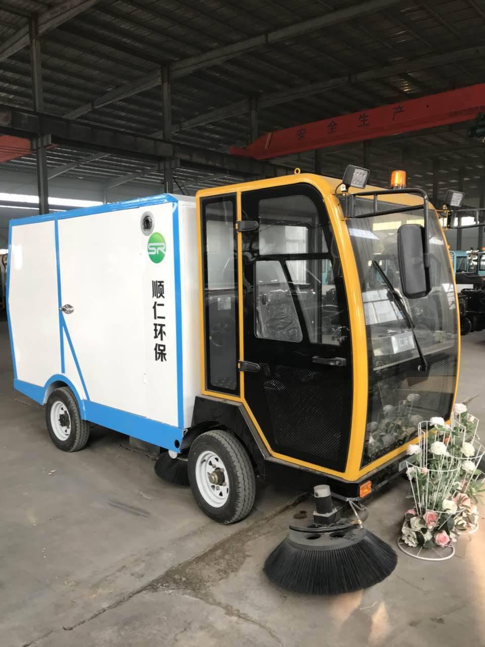城市道路清洁电动扫地车 小型多功能驾驶型扫地车厂家