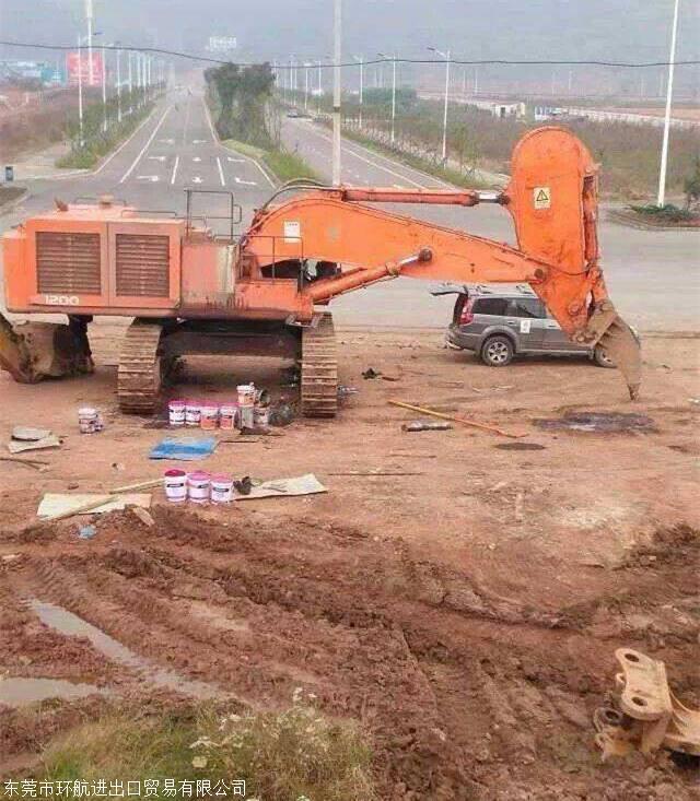 德国二手挖掘机进口清关代理