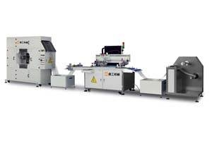 薄膜开关丝印机喜工5070全自动丝网印刷机