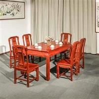 东阳红木家具厂花梨木红木餐桌