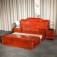 红木床-红木家具厂直销-国标红木-组合床