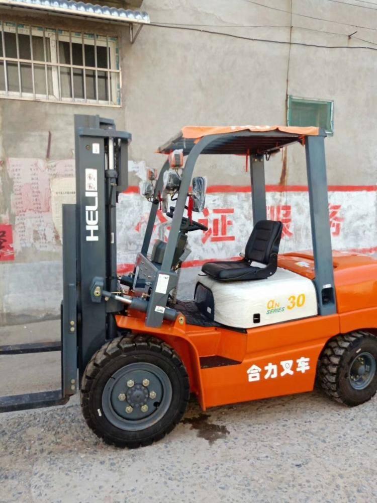 个人二手叉车价格3吨4吨6吨合力叉车 转让价格