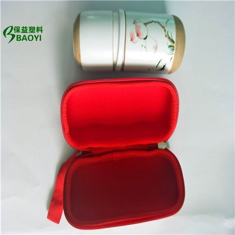 保益厂家专业生产定制热压eva复布盒子 eva热压陶器包装盒