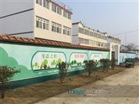 墙绘成都新农村墙画厂家品牌企业成都梦想天空公司