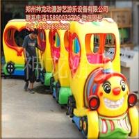 轨道火车游乐设备-厂家低价促销-神龙游乐设备厂