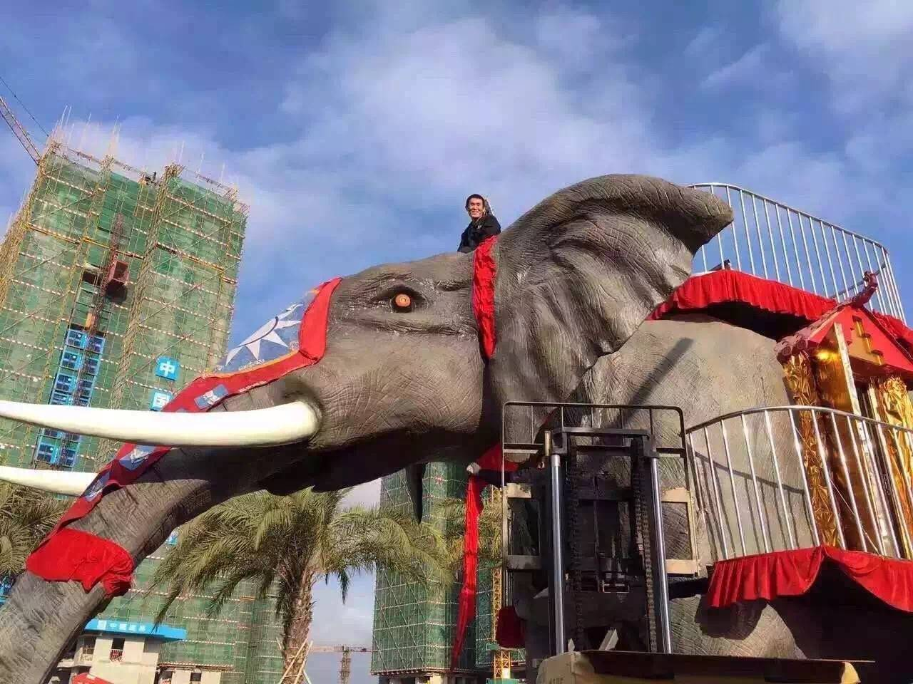 名扬天下机械大象出租