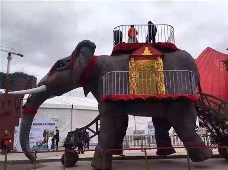 气势宏大机械大象出租