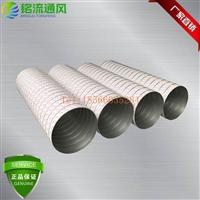 廣東廠家直銷不銹鋼304排風設備風管 白鐵環保排煙管 鍍鋅板風管