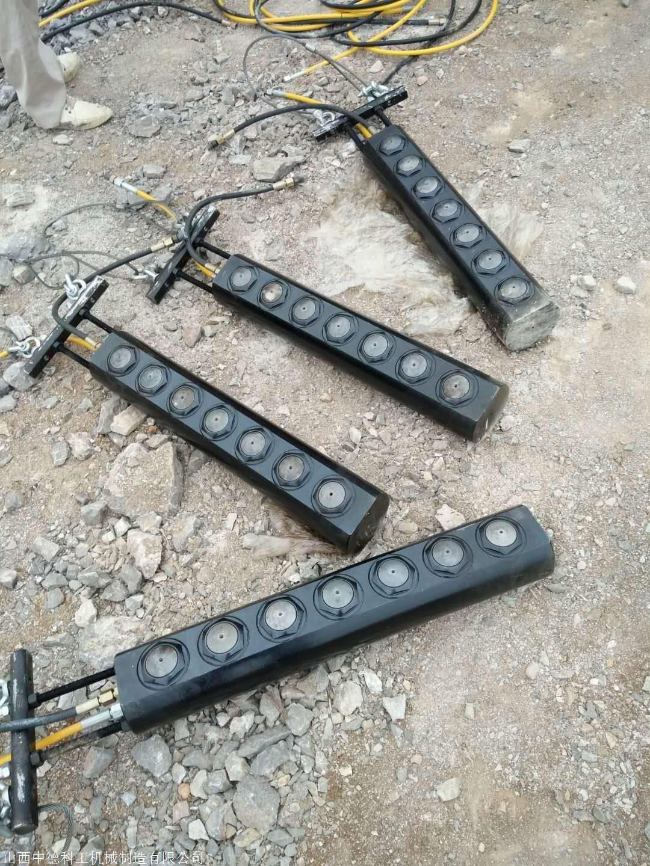 铜川岩石劈裂机价格