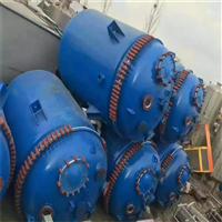 回收反应釜 5000L搪瓷反应釜高价回收