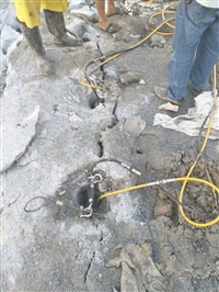 忻州汽油驱动岩石劈裂机效率