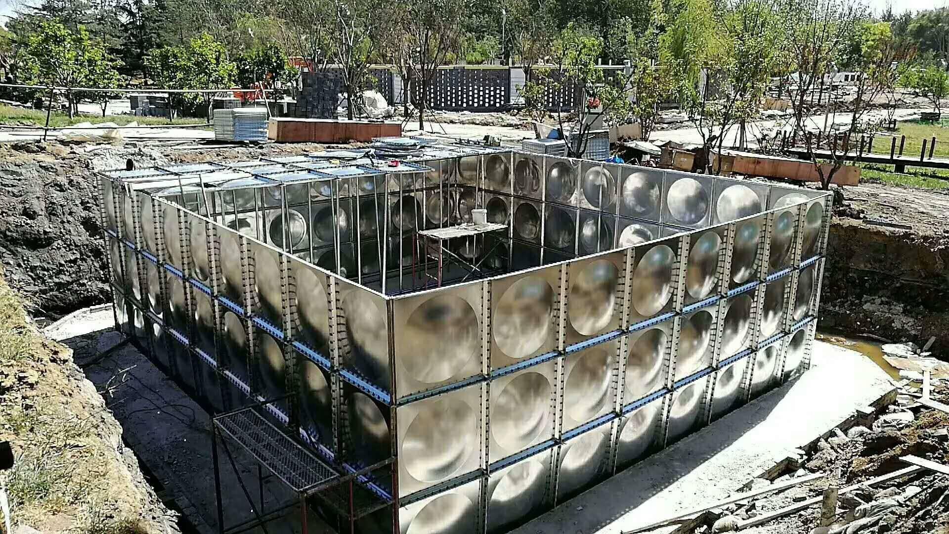 消防泵站  地埋式箱泵一体化