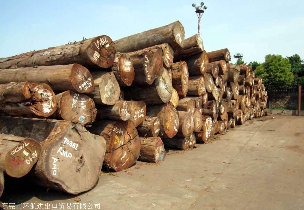 进口木材原木报关申报流程