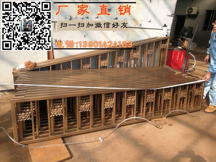 戴南不锈钢护栏 戴南金色古铜色护栏 戴南防撞土豪金护栏生产厂家