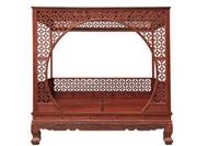 紅木架子床上門收購價格一 般是多少