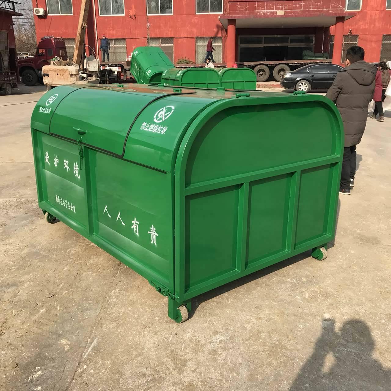 河南垃圾箱厂家-价格