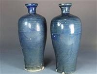 明代霁蓝釉梅瓶哪里拍卖比较权威
