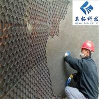 耐磨陶瓷涂料 水泥厂防磨胶泥 龟甲网耐磨胶泥