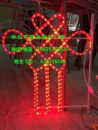 專用LED路燈桿造型燈 雙籠結彩燈桿造型裝飾 過街燈