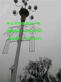 LED路燈桿造型燈 丹頂鶴燈桿造型裝飾 過街燈
