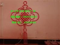 LED路燈桿造型燈福到中國 燈桿造型裝飾 中國結