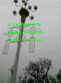 LED路燈桿造型燈 果實累累燈桿造型裝飾 中國結