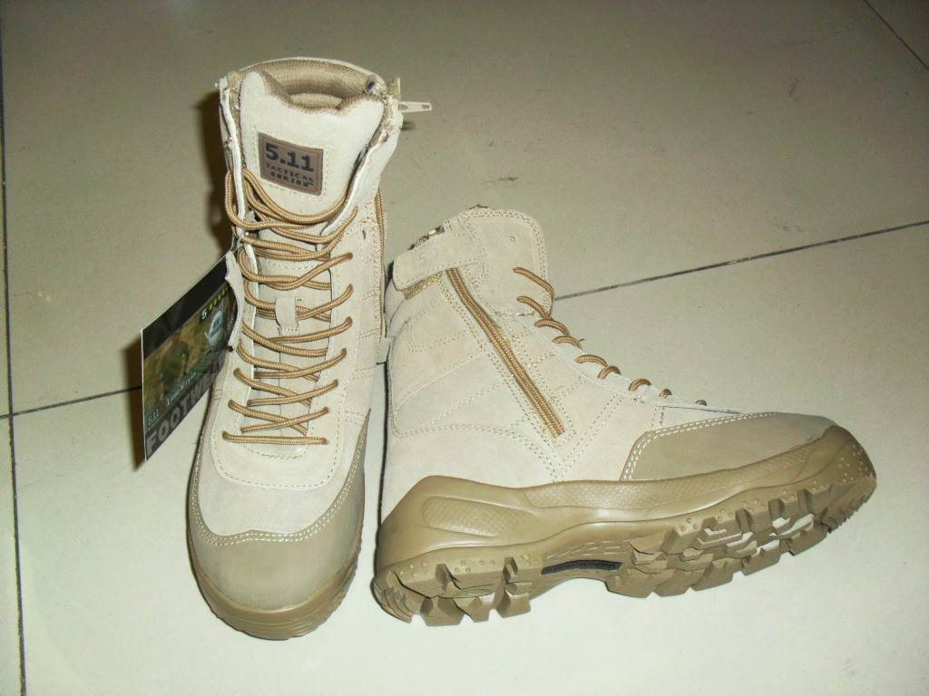 沙漠拉链靴511沙漠军靴