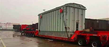 坤升承运西安到新疆乌鲁木齐大件设备运输重型工程机械运输